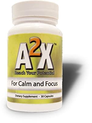 A2X Anxiety - Natural Relief from Anxiety, Stress, Depression, and Panic Attacks