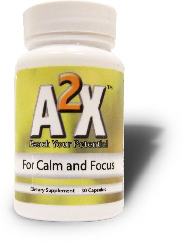 A2X Anxiety - All-Natural Relief from Anxiety, Social Phobia, and Shyness