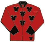 Red and Black Jockey Jacket Pin