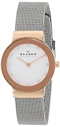 Skagen Rose Gold Tone Steel Watch