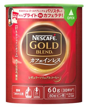 ネスレ日本 ゴールドブレンドカフェインレスエコ&システム60g
