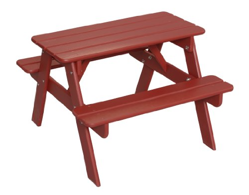 Child Wooden Picnic Table 500 x 392