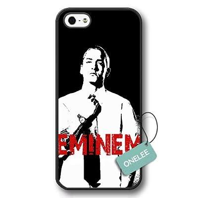 Onelee(TM) - Rap Singer Eminem Hard Plastic iPhone 5s Case & Cover - Eminem iPhone 5 Case