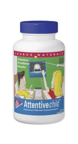 Source Naturals Attentive Child, 30 Tablets