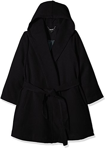 Mexx Women Coat, Giubbotto Donna, Nero (Black 001), Large (Taglia Produttore: 40-L)
