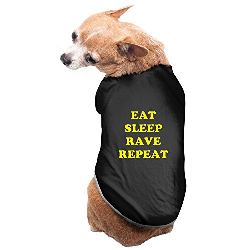 Eat Sleep Rave Repeat Puppy T-shirts Fleece