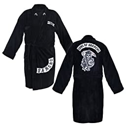 The Sons of Anarchy Samcro Adult Bathrobe