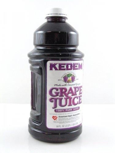 Kedem - Concord Grape Juice - Case (Eight 64 oz.bottles)