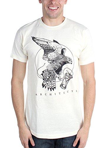 Architects-Maglietta da uomo, motivo: uccellino natur Large