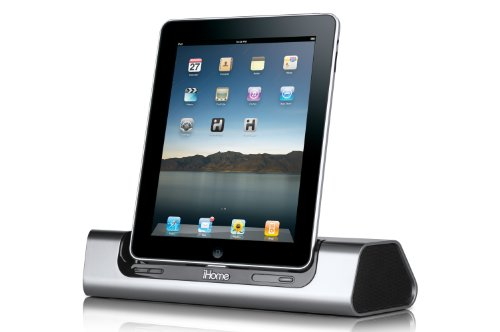 Ihome Id8 App-Friendly 30-Pin Ipod/Iphone/Ipad Speaker Dock (Not Compatible W/ Iphone 5)