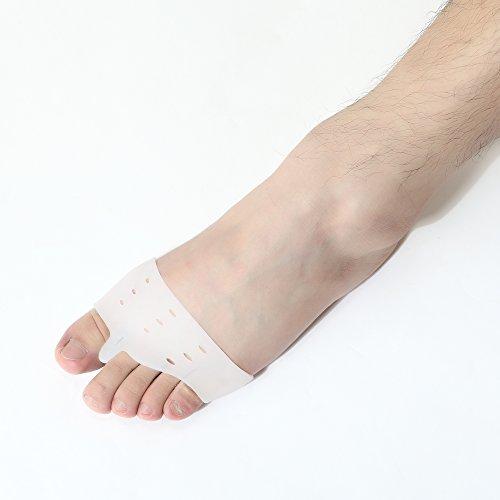 distanziatori Bunion gel Deviazione - KingOfHearts™ Kit di protezione alluce valgo comprende 6 diversi tipi di distanziali punta e separatori, dispositivi grado medico a piedi che proteggono, il sollievo dal dolore