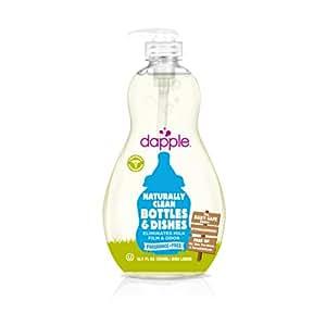 Amazon Com Dapple Fragrance Free Baby Bottle Amp Dish
