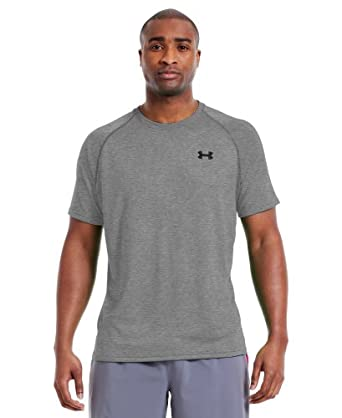 Under Armour UA Men TechTM Patterned Short Sleeve T-Shirt by Under Armour