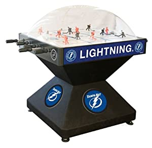 Tampa Bay Lightning Dome Bubble Hockey by Holland Bar Stool