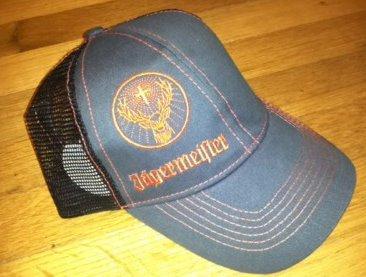 authentic-jagermeister-charcoal-orange-trucker-hat-cap-adjustable-deer-logo