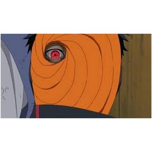 DREAMPARK NARUTO ナルト疾風伝 トビ うちはマダラ フェイスマスク 橙色 オレンジ色 DR027