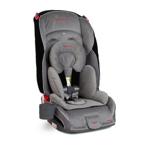 Diono Radian R120 Convertible Car Seat Plus Booster, Storm
