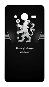 Chelsea Football Club Design - Samsung Galaxy Core 2 Mobile Hard Case Back Cover - Printed Designer Cover for Samsung Galaxy Core 2 - SGCR2CFCB17