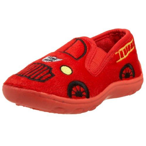Ragg Toddler/Little Kid Fire Truck Ii Slipper,Red,8 M Us Toddler front-526017