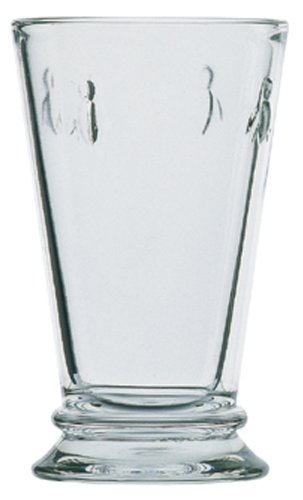 La Rochere Bee Decor 12-Ounce Glass, Set of 6