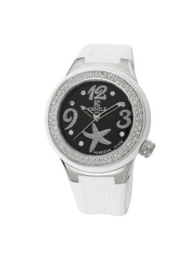 Kienzle K2062153313-00283 - Orologio da polso donna, silicone, colore: bianco