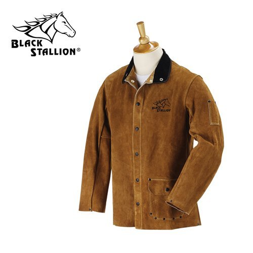 Revco-Black-Stallion-30WC-30-Cowhide-Leather-Welding-Jacket-Large