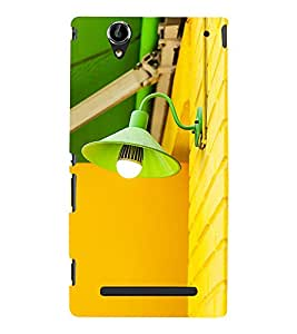 Cute light Back Case Cover for Sony Xperia T2
