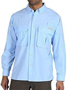 ExOfficio Mens Air Strip Lite Long Sleeve Shirt by ExOfficio