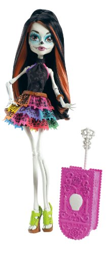 Monster High Travel Scaris Skelita Calaveras Doll (Discontinued by manufacturer) (Picture Day Monster High Dolls compare prices)