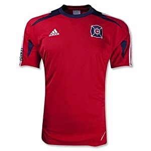 Chicago Fire Pregame Training Jersey (Red) by adidas