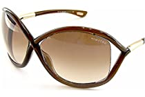 Tom Ford Whitney TF 9 692 Dark Brown / Brown Gradient
