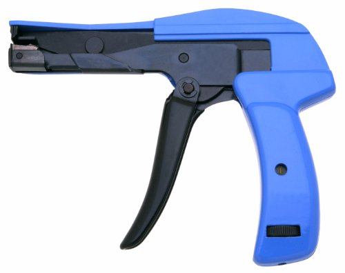 Xcelite DCT300V Die-Cast Steel Flush Cut Point DataCom Cable Tie Gun with Steel Handle, 7