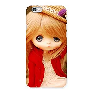 Delighted Angel Wearing Hat Multicolor Back Case Cover for iPhone 6 6S