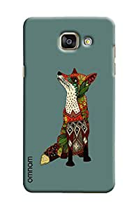 Omnam Colorful Animal With Pattern Printed Designer Back Cover Case For Samsung Galaxy A5 2016 (A510)