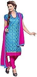 Shyam Suits Women's Cotton Unstitched Salwar Suit (LUCKY043)