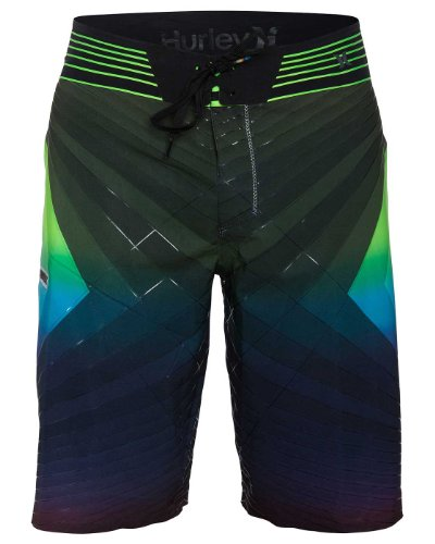 Hurley - Mens Fuse Dalek Phantom Boardshorts, Size: 28, Color: Multi