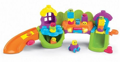 Fisher-Price Stacking Surprise Song  &  Smiles Silly Town
