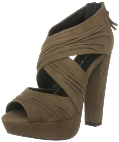 KG by Kurt Geiger  Women's Juliet Taupe Open Toe 2263647209 7 UK