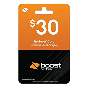 Boost Mobile Card