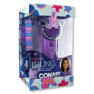 Conair HJ1TR Hair Bling Bejewel Automatically Gift Set
