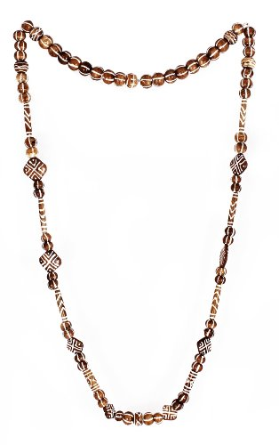 Sharnam Art Tribal / Ethnic master piece Necklace in Brown color