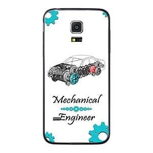 Samasung Galaxy S5 mini printed back cover (2D)AK-AD005
