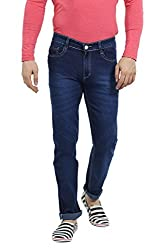 Sloper Blue Narrow Fit Jeans For Men