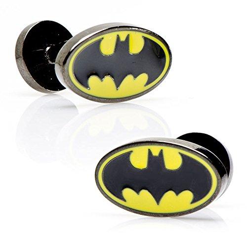 Cufflinks-Inc-Enamel-Oval-Batman-Logo-Cufflinks-DC-OBL-BLK