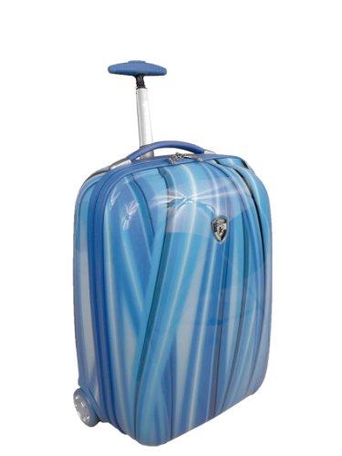 Heys Luggage Xcase Exotic Hard-Sided Bag, Blue Flow, One Size best buy