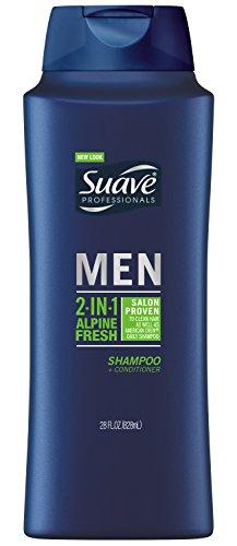 Suave Professionals Mens, 2 in 1 Shampoo/Conditioner, Alpine Fresh, 28oz (Suave Men Shampoo And Conditioner compare prices)