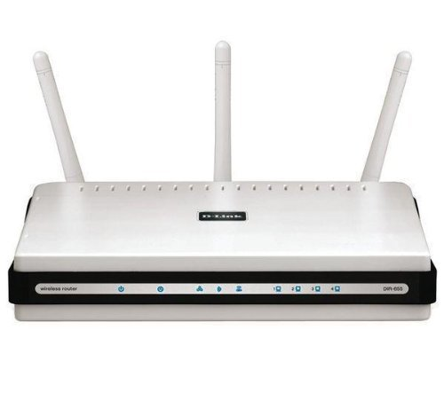 D-Link Wireless N+300 Mbps Extreme-N Gigabit Router (DIR-655)