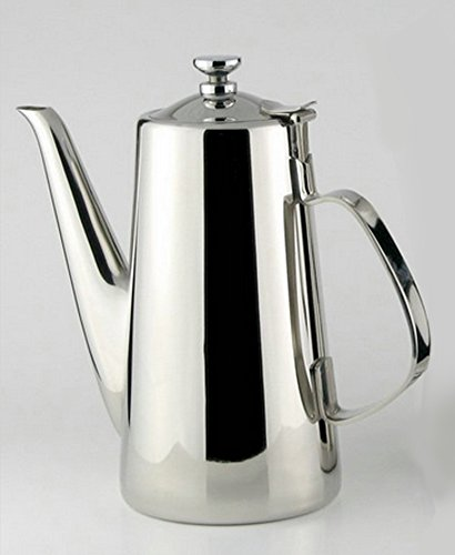 Stainless steel cold kettle tea pot,Multipurpose Coffee, juice, milk, Anti-drip spout design Drinkware bottles,jugs,high quality (Stainless Steel Kettle 5 Gallon compare prices)