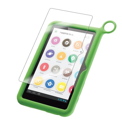 """Iq Shield Liquidskin - Olpc Xo 7"""" Kids Tablet Screen Protector With Lifetime Replacement Warranty - High Definition (Hd) Ultra Clear Smart Film - Premium Protective Screen Guard - Extremely Smooth / Self-Healing / Bubble-Free Shield - Kit Comes In Frustra front-875313"""