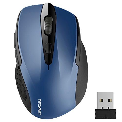 tecknet-pro-mouse-senza-fili-2400dpi-durata-delle-batterie-di-24-mesi-24g